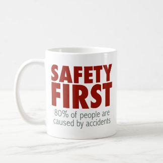 Safety First! Coffee Mug