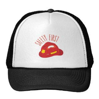 Safety First Trucker Hat