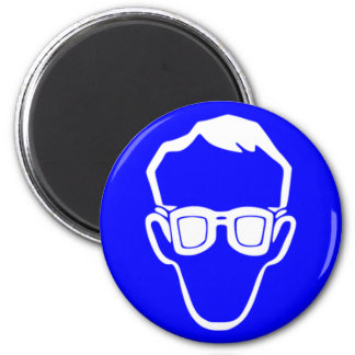 Safety goggles 2 inch round magnet