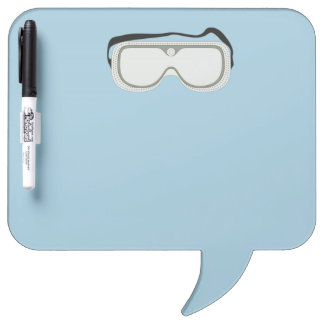 Safety Goggles Dry-Erase Whiteboard