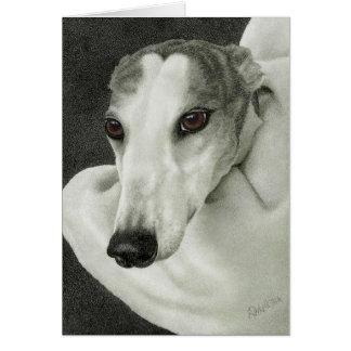 """""""Safety"""" - Greyhound Card"""