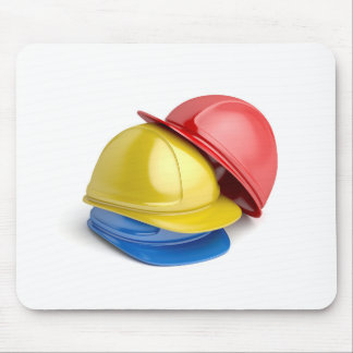 Safety helmets mouse pad