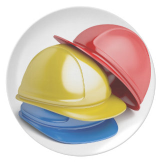 Safety helmets plate
