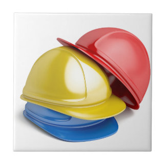 Safety helmets tile