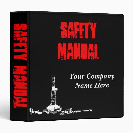 Safety Manual Binder