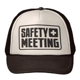 Safety Meeting Trucker Hat