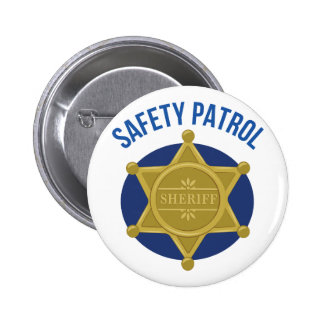 Safety Patrol 2 Inch Round Button
