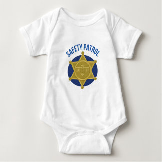 Safety Patrol Baby Bodysuit