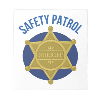 Safety Patrol Notepad