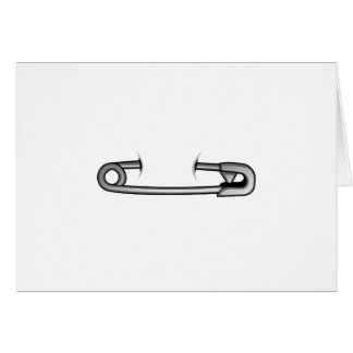 safety pin 1 card
