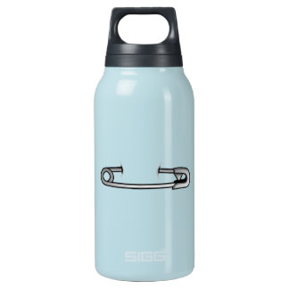 safety pin 1 insulated water bottle