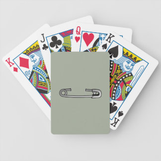 safety pin 1 poker deck
