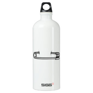 safety pin 1 water bottle