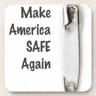 Safety Pin Coaster