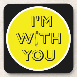 Safety Pin - I'm With You Coaster