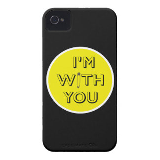 Safety Pin - I'm With You iPhone 4 Case