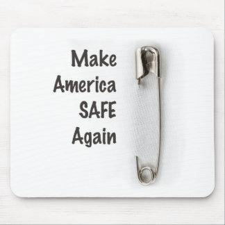 Safety Pin Mouse Pad
