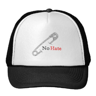 Safety Pin No Hate Trucker Hat