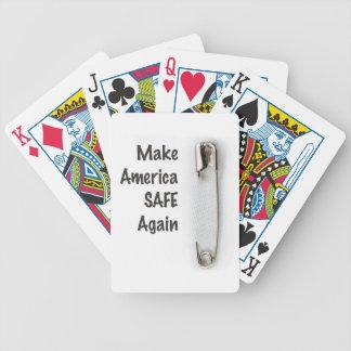 Safety Pin Poker Deck