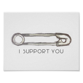 Safety Pin Poster