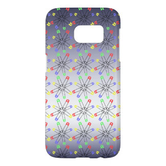 Safety Pin Solidarity Red Blue Green Rainbow Samsung Galaxy S7 Case