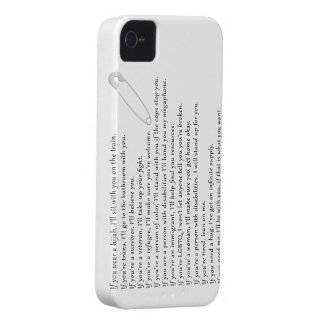 Safety Pledge iPhone 4 Case-Mate Case