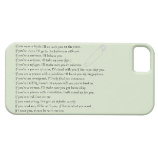 Safety Pledge iPhone 5 Case