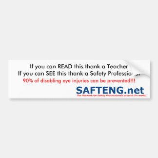 Safety Professional 1 Bumper Sticker