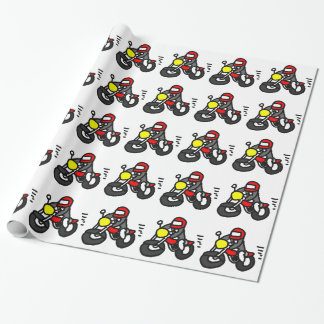 Safety Rider Wrapping Paper
