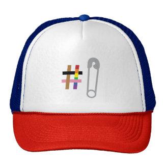 #SafetyInNumbers Red, White, & Blue Trucker Hat