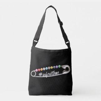 #SafeWithMe Dark Sling Bag