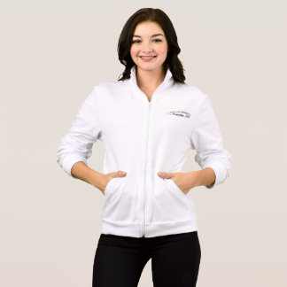 #SafeWithMe Women's Fleece Zip Jog Jacket