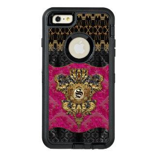 Saffertsteen Elegant Monogram OtterBox Defender iPhone Case