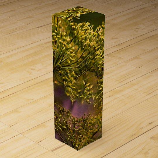 Saffron Wine Box