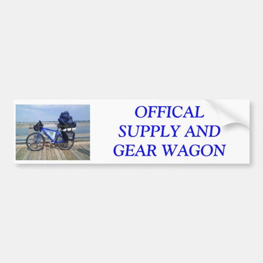 SAG wagon Bumper Sticker