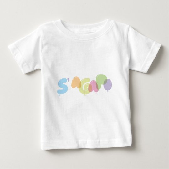 S'agapo - I love you in Greek Baby T-Shirt
