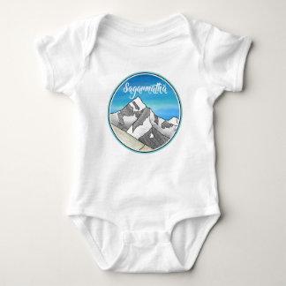 Sagarmatha Mt. Everest Landscape Baby Bodysuit