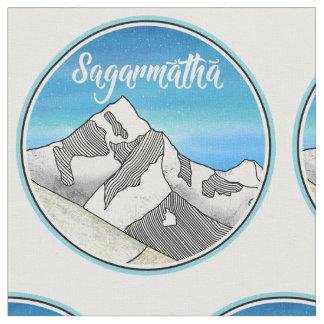 Sagarmatha Mt. Everest Landscape Fabric