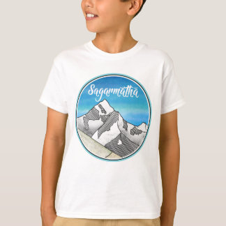 Sagarmatha Mt. Everest Landscape T-Shirt