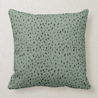 Sage and Pebbles Throw Pillow