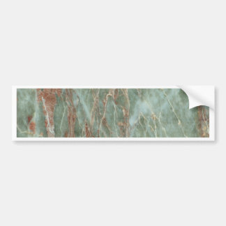 Sage and Rust Marble Bumper Sticker