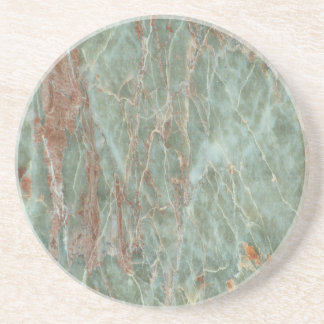 Sage and Rust Marble Coaster