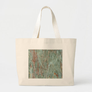 Sage and Rust Marble Large Tote Bag