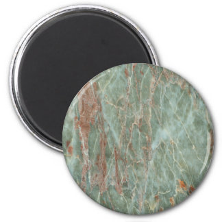 Sage and Rust Marble Magnet