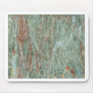 Sage and Rust Marble Mouse Pad
