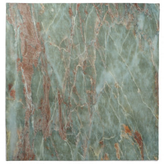 Sage and Rust Marble Napkin