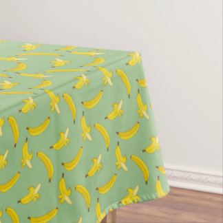 Sage Bananas Tablecloth