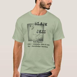 Sage Black Jazz tee