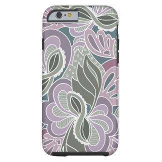 Sage Blush Garden Pattern Tough iPhone 6 Case