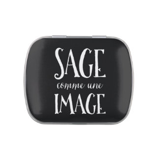 Sage Comme Une Image - Good as Gold French Saying